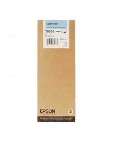 Epson T6065 Cian Claro Original