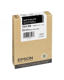 Epson T6138 Negro Mate Original