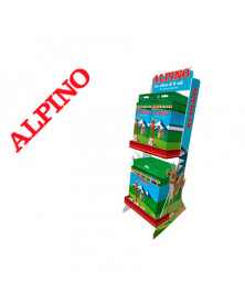 Lapices de colores alpino expositor sobremesa 75 aniversario 595x190x250 mm + altavoz bluetooth regalo