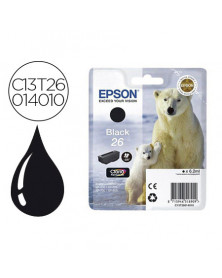 Ink-jet epson t2601 expression xp-600 / 605 / 700 / 800 negro - 220 pag -