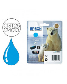 Ink-jet epson t2612 expression xp-600 / 605 / 700 / 800 cyan - 300 pag -