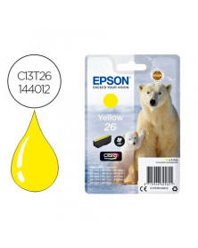 Ink-jet epson 26 xp600 / 605 / 700 / 800 amarillo 300 pag