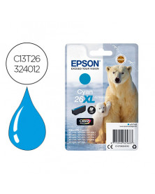 Ink-jet epson 26xl xp600 / 605 / 700 / 800 cyan 700 pag