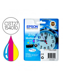 Ink-jet epson 27xl wf3620 / 7110 / 7610 / 7620 pack multicolor