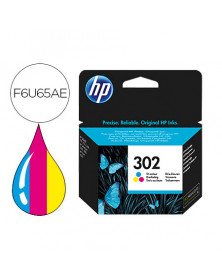 Ink-jet hp 302 deskjet 1110 / 2130 / 3630 officejet 3830 / 4650 envy 4520 tricolor 165 pag