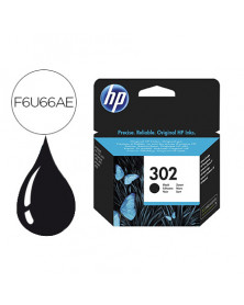 Ink-jet hp 302 deskjet 1110 / 2130 / 3630 officejet 3830 / 4650 envy 4520 negro 190 pag