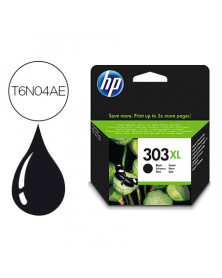 Ink-jet hp 303xl envy photo 6230 / 7130 / 7830 color negro capacidad 600 paginas