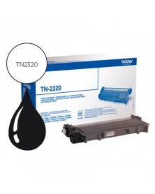 Toner brother tn-2320 dcpl2520dw dcpl2540dn mfcl2700dw mfcl2720dw mfcl2740dw negro 2600 pag