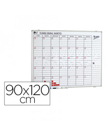 Planning magnetico 1000/60 mensual dia a dia superficie blanca rotulable 90x120
