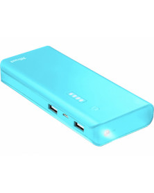Bateria auxiliar trust urban primo para tablets y moviles 10000 mah color azul