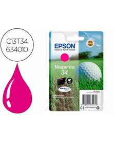 Ink-jet epson 34 workforce pro wf-3720 / wf-3720dwf / wf-3725dwf magenta 300 paginas