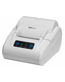 Impresora termica safescan tp-230 gris compatible con safescan 1250 / 2465s / 2665s /6165 ancho papel 58 mm