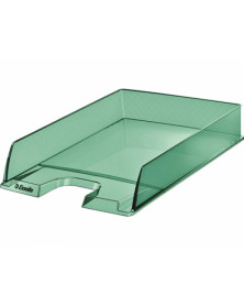 Bandeja sobremesa esselte plastico colour ice color verde 254x61x350 mm
