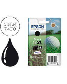Ink-jet epson 34xl workforce pro wf-3720 / wf-3720dwf / wf-3725dwf negro 1.100 pag