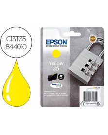 Ink-jet epson 35 t3584 pro wf-4720dwf / 4725dwf / 4730dtwf / 4740dtwf amarillo 650 paginas
