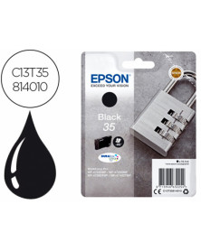 Ink-jet epson 35 t3581 pro wf-4720dwf / 4725dwf / 4730dtwf / 4740dtwf negro 900 paginas