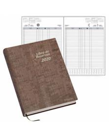 Libro de reservas ingraf 22x31 cm 2020 2 paginas por dia papel ecologico 70 gr