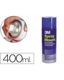 Pegamento scotch spray mount 400 ml -adhesivo reposicionable