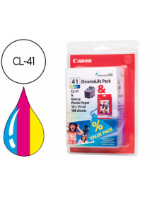 Ink-jet canon ip1200 1300 1600 2200 mp150 160 170 450 460 jx200 500 tricolor cl-41