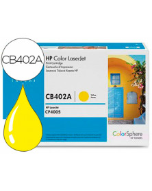 Toner hp laserjet color 4005 amarillo -7.500 pag- 402a