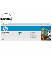Toner hp cb381a color laserjet cp6015/cm6030/cm6040 cian with colorsphere -21.000pag- 381a