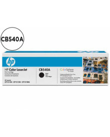 Toner hp cb540a color laserjet cp-1215/cp-1515/cp-1518 negro with colorsphere -2200pag-