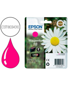 Ink-jet epson t18 magenta expression home xp-102 xp-205 xp-305 xp-405 capaciidad 180 pag