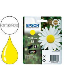 Ink-jet epson t18 amarillo expression home xp-102 xp-205 xp-305 xp-405 capaciidad 180 pag