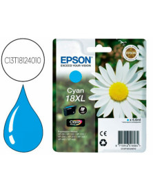 Ink-jet epson t18xl cyan expression home xp-102 xp-205 xp-305 xp-405 capacidad 470 pag