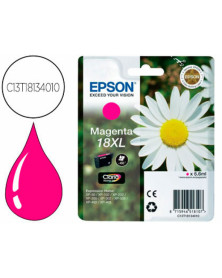 Ink-jet epson t18xl magenta expression home xp-102 xp-205 xp-305 xp-405 capacidad 470 pag