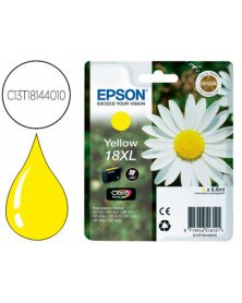 Ink-jet epson t18xl amarillo expression home xp-102 xp-205 xp-305 xp-405 capacidad 470 pag