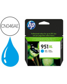Ink-jet hp 951xl cian cn046ae capacidad 1500 pag