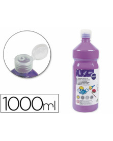 Tempera liquida liderpapel escolar 1000 ml lila