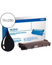 Toner brother tn-2310 dcp-l2500d / hl-l2300d / mfc-l2700dw / mfc-l2720dw negro 1200 pag