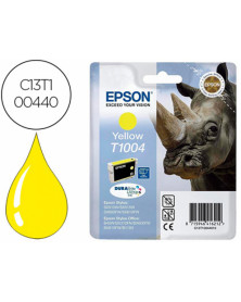 Ink-jet epson stylus office t1004 b40w / bx600fw / sx600fw amarillo 815 pag