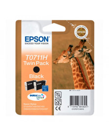 Epson T0711H Negro Twin Pack Original