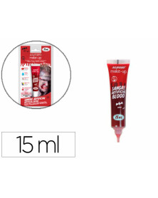 Maquillaje alpino sangre artificial tubo de 15 ml