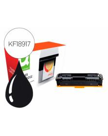 Toner compatible q-connect canon lbp611k i-sensys lbp610 negro alto rendimiento 2800 paginas