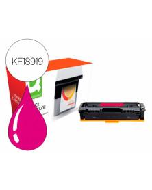 Toner compatible q-connect canon lbp611m i-sensys lbp610 magenta alto rendimiento 2200 paginas