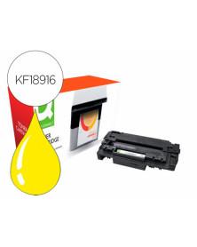 Toner compatible q-connect canon lbp710y i-sensys lbp-710 / 712 amarillo 10000 paginas