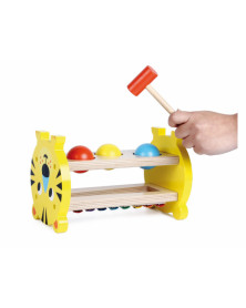 Juego andreutoys hit & xylophone tiger