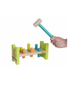 Juego andreutoys bench hit squirrel