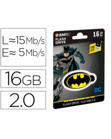 Memoria usb emtec flash 16 gb usb 2.0 collector batman