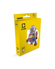 Brother LC980 / LC1100 Amarillo Compatible