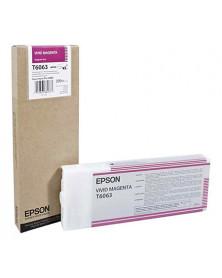 Epson T6063 Magenta Vivo Original