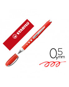 Rotulador stabilo worker colorful rojo 0,5 mm