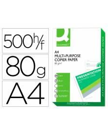 Papel fotocopiadora q-connect din a4 80 gramos -paquete de 500 hojas