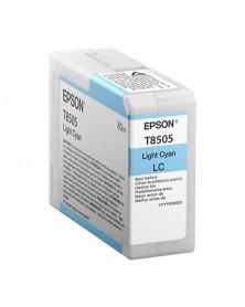 Epson T8505 Cian Claro Original
