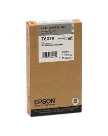Epson T6039 Gris Claro Original